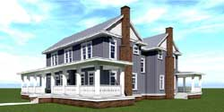 Country Style Floor Plans Plan: 39-213