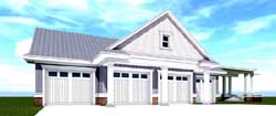 Traditional Style Home Design Plan: 39-214
