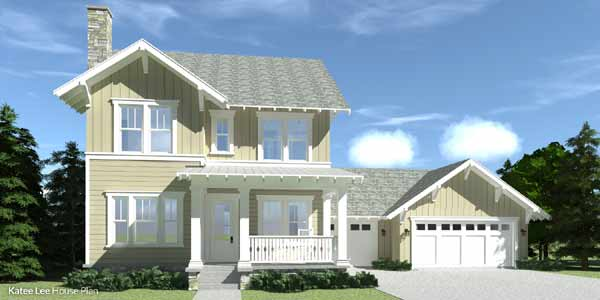 Craftsman Style House Plans Plan: 39-226