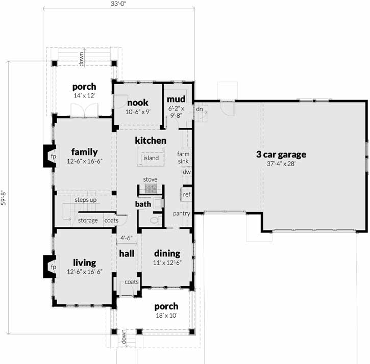 Main Floor Plan: 39-226