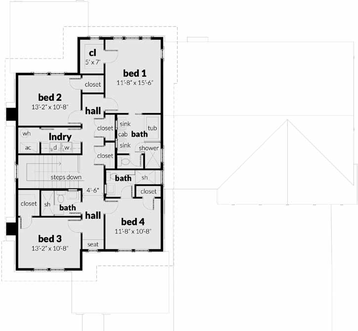 Upper/Second Floor Plan: 39-226