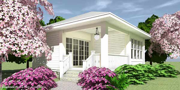 Country Style Home Design Plan: 39-227