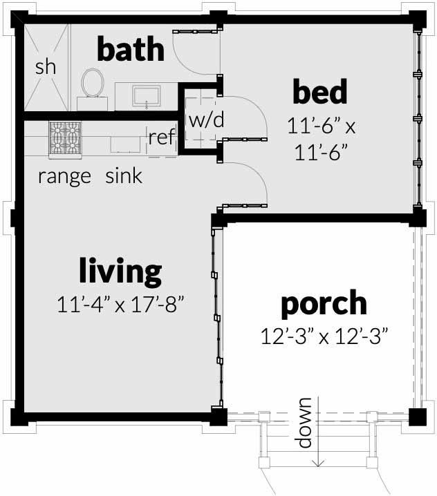 Main Floor Plan: 39-227