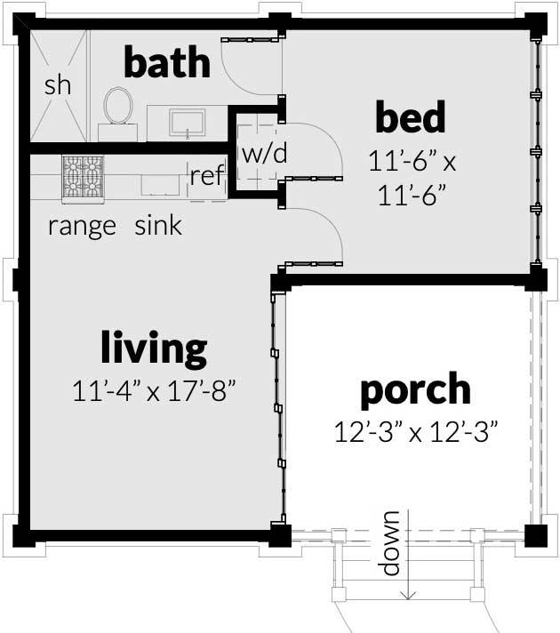 Main Floor Plan: 39-228