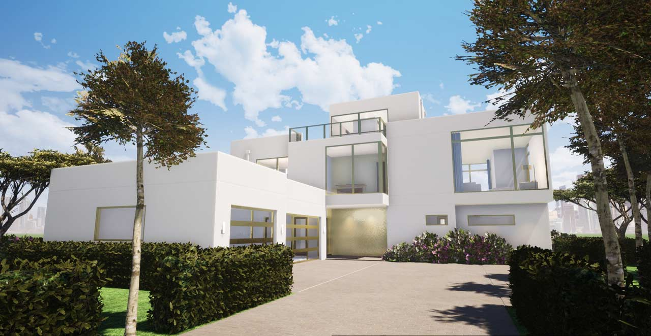 Modern Style House Plans Plan: 39-234