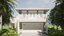 Coastal Style House Plans Plan: 39-235