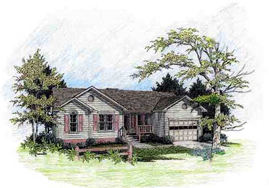 Traditional Style House Plans Plan: 4-102
