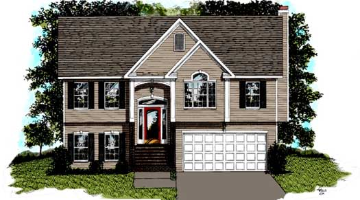 Traditional Style Floor Plans Plan: 4-103