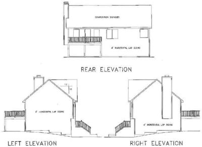Rear Elevations Plan:4-103