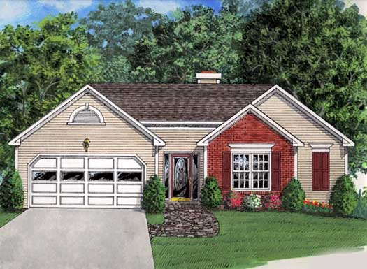 Traditional Style House Plans Plan: 4-108