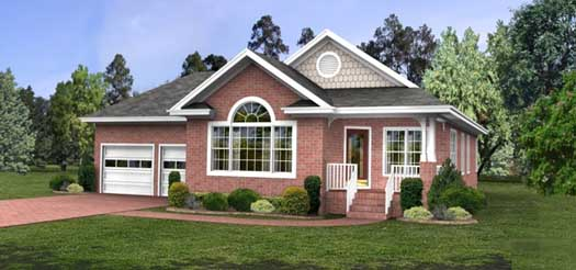 Traditional Style House Plans Plan: 4-113