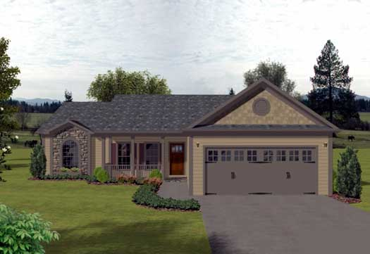 Traditional Style House Plans Plan: 4-115