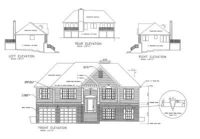 Rear Elevation Plan: 4-117