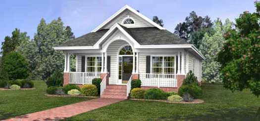 Cottage Style House Plans Plan: 4-118