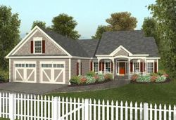 Southern Style Floor Plans Plan: 4-122