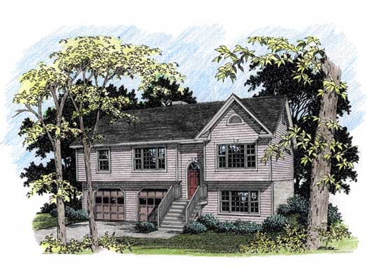 Traditional Style Floor Plans Plan: 4-124