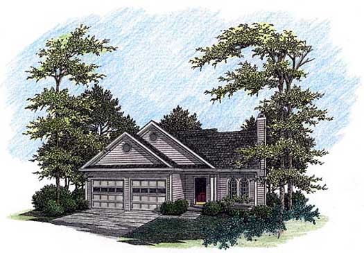 Traditional Style Floor Plans 4-130