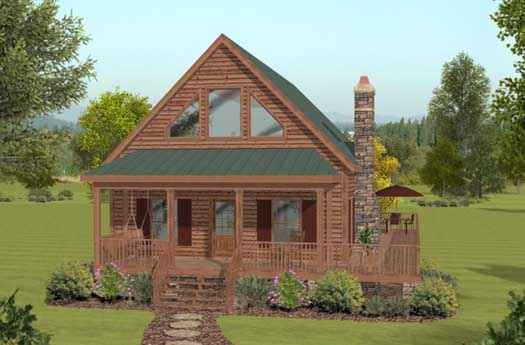 Contemporary Style Floor Plans Plan: 4-132