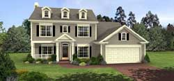 Southern-Colonial Style House Plans Plan: 4-138