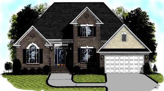 Traditional Style Floor Plans Plan: 4-143