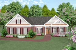 Traditional Style Floor Plans Plan: 4-145