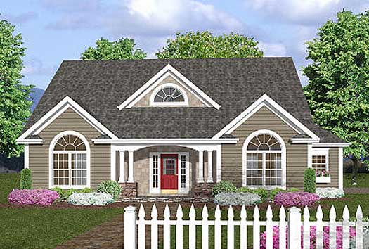 Southern Style House Plans Plan: 4-146
