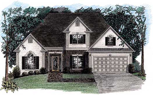 Traditional Style House Plans Plan: 4-148