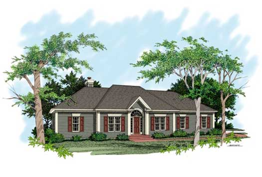 Traditional Style House Plans Plan: 4-149