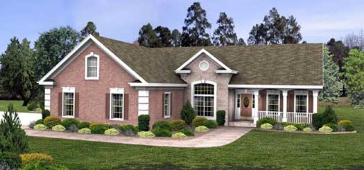 Traditional Style Floor Plans Plan: 4-152