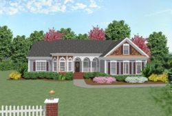 Traditional Style House Plans Plan: 4-154