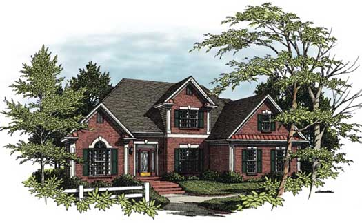 Traditional Style Floor Plans Plan: 4-156