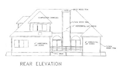 Rear Elevations Plan:4-156