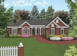 Ranch Style Home Design 4-157