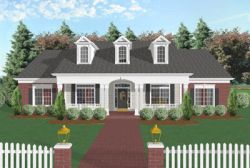 Southern Style House Plans Plan: 4-158