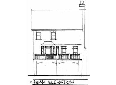 Rear Elevations Plan:4-161