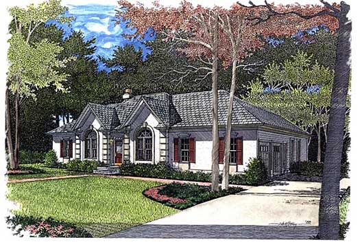 Mediterranean Style Floor Plans Plan: 4-162