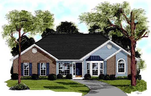 Traditional Style House Plans Plan: 4-164