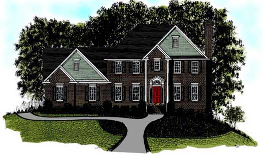 Traditional Style Floor Plans Plan: 4-168