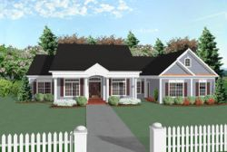 Southern Style House Plans Plan: 4-169