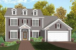 Southern-Colonial Style House Plans Plan: 4-170