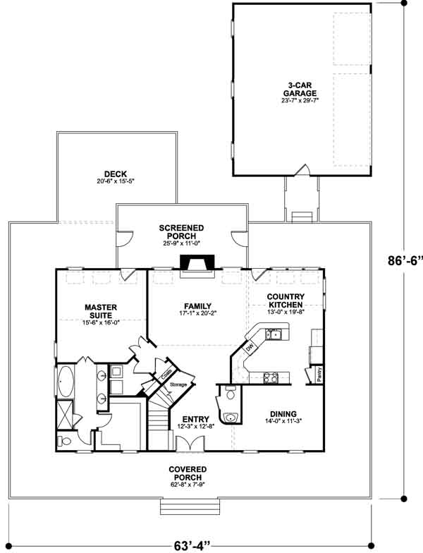 Main Floor Plan: 4-172