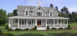 Country Style Floor Plans Plan: 4-172