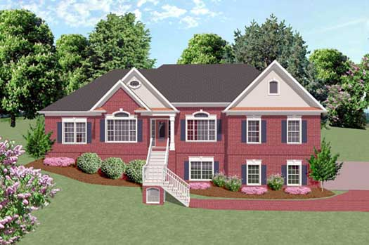 Traditional Style Floor Plans Plan: 4-179