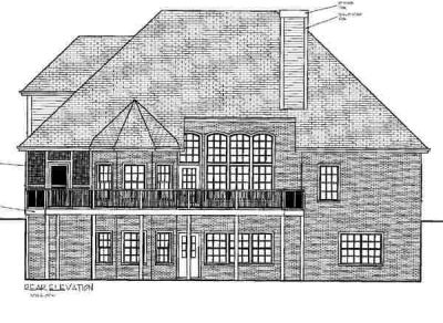 Rear Elevation Plan: 4-181