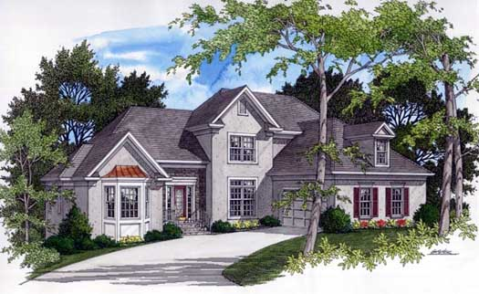 Traditional Style House Plans Plan: 4-182