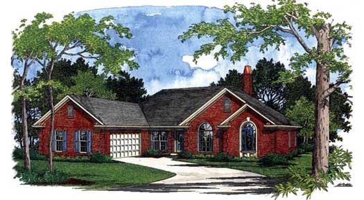 Traditional Style Floor Plans Plan: 4-183