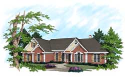 Traditional Style House Plans Plan: 4-185