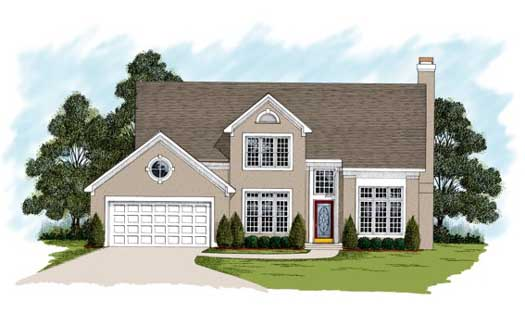 Traditional Style Floor Plans Plan: 4-186