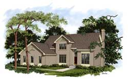 Traditional Style Floor Plans Plan: 4-187