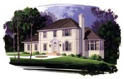Southern Style House Plans Plan: 4-188